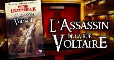 L'Assassin de la rue Voltaire en librairie !